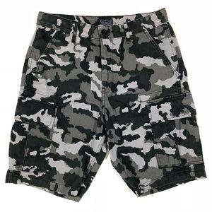 Levi's Mens 29 Cargo Shorts Camo Camouflage